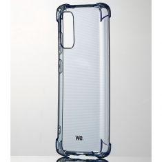 WE Coque de protection BLEU pour smartphone Samsung Galaxy S20 Fabriqué en TPU. Ultra résistant Apparence du téléphone conservée.