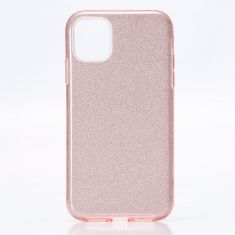 WE - Coque de protection paillette pour smartphone APPLE iPhone 11 ROSE.Ultra-fine au toucher, protège des chocs et des rayures
