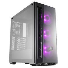 Boitier Cooler Master ATX MasterBox MB520 ARGB Gamer Frontal PVC , Latéral verre trempé MCB-B520-KGNN-RGA