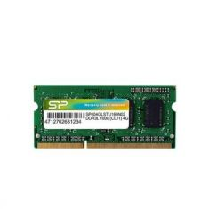 MEMOIRE SILICON POWER DDR3 4GB 1600MT/s CL11 SO-DIMM Notebook 512Mx8 16 CHIPS 1.35V SP004GLSTU160N02