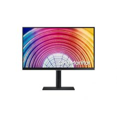 ECRAN 24'' SAMSUNG LED Résolution 2560 x 1440 IPS 300 cd/m² 5 ms HDMI / DisplayPort, Réglable en hauteur / Pivotable / Inclinable, Noir - S24A600NWU