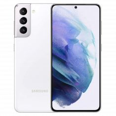 Smartphone Galaxy S21 + 5G 8Go128Go Android 11 One UI 3.1 batt 4000mAh CR 25W Ecran 6.2'' FHD+ -  DAS tête 0,456 - Blanc