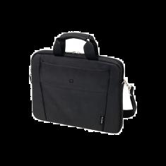 """DICOTA Saccoche pour PC 13""""-14.1"""" Noir Polyester, Neoprene avec poche avant et bandouiliere amovible Slim Case BASE D31304"""