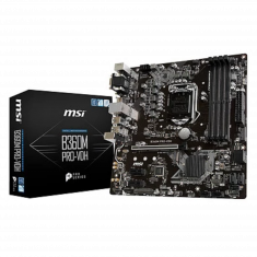 CM MSI B360M PRO-VDH M-ATX Socket 1151 DDR4 64Gb Slot Turbo M.2 X-Boost Click BIOS 5 USB 3 HDMI VGA B360M PRO-VDH
