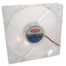 Ventilateur - 8 cm - Transparent