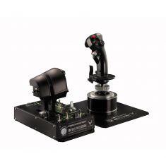 THRUSTMASTER HOTAS WARTHOG PC Joystick+panneau de contrôle+double Manette des gaz métal réplique de A-10C Technologie HEART 2960720