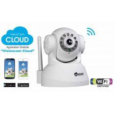 Camera IP VisionCam Cloud - Sans fil - Intérieure Motorisée - V 2.4