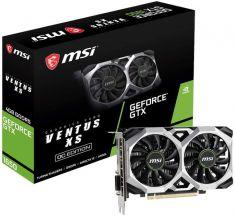 VGAN MSI GeForce GTX1650 VENTUS XS 4G 1740MHz/8000MHz GDDR5 4Go PCI-E 3.0 x16 DP/HDMI/DVI-D DirectX12