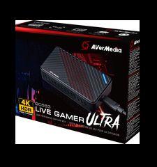 AVERMEDIA Live Gamer ULTRA Acquisition et Streaming Externe USB 3.1Taux de Rafraîchissemt240Hz GC553