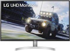 "MONITEUR LG 32"" LED 16:9 UHD 4K 3840x2160 4ms 2xHDMI Displayport AMD Free Mode DAS, 350cd/m² Blanc/Noir 32UN500-W"