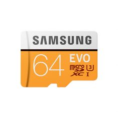 Carte mémoire MicroSD Evo 64G avec adaptateur SD