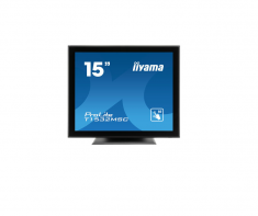 "Moniteur IIYAMA 15"" Tactile PCAP 10 points1024x768 VGA, HDMI, DP HPs 325cd/m² 700:1 USB T1532MSC-B5X"