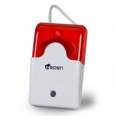 Alarme auto alimentée - Caméra IP