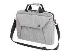 """DICOTA Sacoche Slim Case EDGE Gris Pr PC portable 14""""-15.6"""" Polyester Mousse EVA Rembouré Multi poches D31388"""
