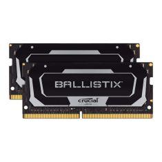 MEMC CRUCIAL BALLISTIX 16GB Kit (2x8GB) DDR4 2400MT/s CL16 SODIMM 260pin Black BL2K8G26C16S4B