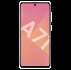 "Smartphone Galaxy A71 Bleu Dual Sim OctoCore2,2 GHz  128 Go  Ram  6Go Ecran 6,7"" FHD+ SuperAMOLED SPENConnect batt 4500mAh CR 25W"
