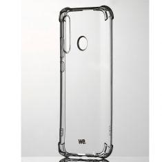 WE Coque de protection transparente pour smartphone HONOR 20 LITE Fabriqué en TPU. Ultra résistant Apparence du téléphone conservée.