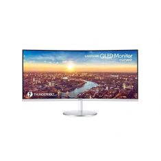 "ECRAN 34"" SAMSUNG C34J791WTR BLANC incurvé 21:9 LED/VA  3440 x1440  4ms 2xHDMI DisplayPort HPs THUNDERBOLT"