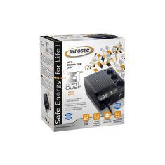 Onduleur INFOSEC Z1 Zenergy Cube EX 600 - 3 Prises