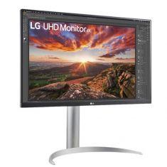 """ECRAN LG 27"""" 27UP850-W 16:9 UHD 5ms 3840×2160 350cd/m2 2x HDMI DP 2xUSB 3.0 FreeSync HP 2x5W HDR400 Incli Pied Réglab bords fins - Blanc"""