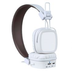 Casque Micro Bluetooth - Evolution - Blanc