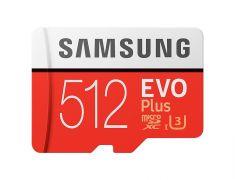 Carte mémoire Micro SD EVO PLUS avec ADAPTEUR - 512Go - MB-MC512GA/EU