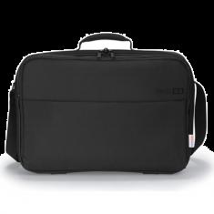 """DICOTA Sacoche BASE XX C Noir pour PC Portable 15.6"""" legere en polyester avec fermeture eclair D31126"""