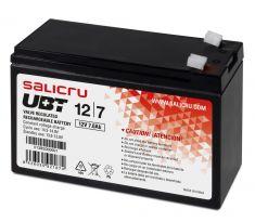 SALICRU BATTERIE UBT 12V/7Ah Technologie AGM Faible autodecharge 105 A (5s) Garantie 5 ans 013BS000001