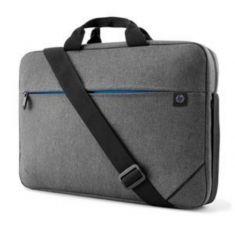 "Sacoche PC HP Prelude 17.3"" Gris Sacoche de transport av bandoulière Poche avant fermeture eclair . Impermeable, chic et elegant 100%polyester 34Y64AA"