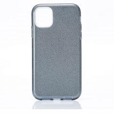 WE - Coque de protection paillette pour smartphone APPLE iPhone 11 NOIR.Ultra-fine au toucher, protège des chocs et des rayures