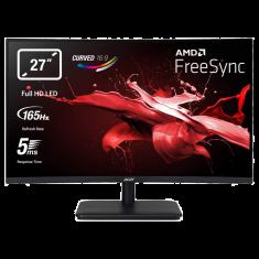 "Ecran Acer 27"" ED270RPbiipx Noir 1920x1080@HDMI:144Hz Dp:165Hz 16:9 VA mat 5ms 250nits 2xHDMI DP FreeSync Incurvé 1500R Slim"