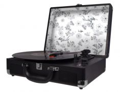 Platine Vinyle Halterrego H.Turn II - Noir/Birds