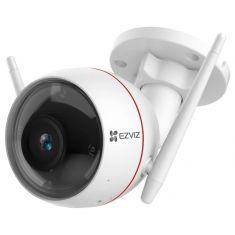 EZVIZ Camera Wifi Exterieur C3W PRO 4MP 2K Wifi 2.4Ghz IP67 Sirene et lampe Détection de mouvement IA Vision Nocturne 30m 103° CS-C3W-A0-3H4WFRL