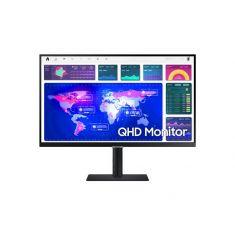 ECRAN 27'' SAMSUNG 2560 x 1440 (QHD) Dalle IPS 300 cd/m² Temps de réponse : 5 ms, DisplayPort / HDMI / USB-C, Réglable en hauteur / Pivotable / Inclinable, Noir - S27A600UUU
