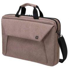 """DICOTA Sacoche Slim Case Plus EDGE Beige Pr PC portable 14""""-15.6"""" Polyester Mousse EVA Rembouré Multi poches D31522"""