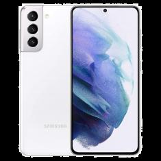 Smartphone Galaxy S21 WHITE+ 5G 8 Go 128 Go Android 11 One UI 3.1 Dual SIM IP68 -  batt 4000mAh CR25W Ecran 6.2'' FHD+  DAS Tete 0.456