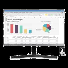 "ECRAN 28"" SAMSUNG U28R550UQR IPS 4K 16:9 3840x2160 4ms 2xHDMI Displayport FreeSync cable HDMI"