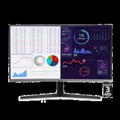 ECRAN 27'' SAMSUNG LC27R500FHR FHD VA - 4ms - 250cd/m2 3,000:1 - D-Sub HDMI VGA - 60Hz IncurvéGRIS