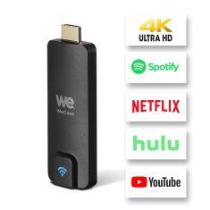 WE Dongle Cast Clé HDMI Mini Récepteur WiFi Display sans Fil avec Partage Vidéo FHD de Projecteurs Téléphones cellulaires Soutien pour Tablet PC Airplay TV Miracast Dongle