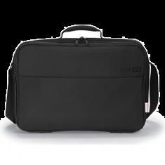 """DICOTA Sacoche BASE XX C Noir pour PC Portable 13.3"""" legere en polyester avec fermeture eclair D31515"""