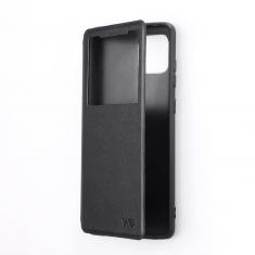 Etui de protection WE noir pour smartphone Samsung Galaxy A32 4G Résistant aux chocs et chûtes. Accès caméra et multi-position.