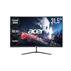 Ecran Acer 31.5''ED320QRPbiipx Noir FHD 1920x1080 DP:165Hz HDMI:144Hz 16:9 VA Mat 5ms 300nits DP 2xHDMI Gaming Incurvé 1800R FreeSync
