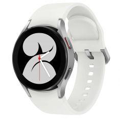 SAMSUNG Galaxy Watch4 40M - Bluetooth - Silver- Aluminium bracelet silicone OS Google Electro cardiogramme pression sanguine design sport SM-R860NZSAXEF
