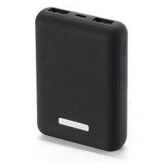 Batterie de secours 10000mAh Noir 2 port USB (2.1A)