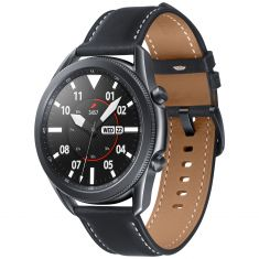 SAMSUNG Galaxy Watch 3 45mm Mystic Black BT - Bluetooth Lunette Rotative GPS Intégré SM-R840NZKAEUB - DAS 0,341W/Kg