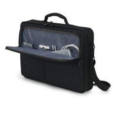 """DICOTA Sacoche ecologique ECO MULTI SCALE Noir Pour PC Portable 12""""- 14.1"""" + tablette 10"""" Rembourage optimal et cadre métal D31430"""