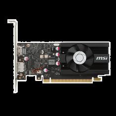 VGAN MSI GeForce GT1030 2G LP OC 1518 MHz /1265MHz GDDR5 2Go 6008MHz PCI-E 3.0 x16 DP/HDMI Coeur aluminium Duree de vie 10 ans