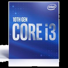 CPUI INTEL Core i3-10100 Processor 65GB HDMI 3.6 GHz / 4.3 G LGA1200 6M Cache BX8070110100
