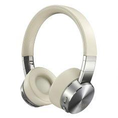 Lenovo Casque Yoga ANC Beige ss fil Suppression Active du bruit 800mAh Bluetooth 5.0 10m Cordon USB 1.3m Étui de transport GXD0U47643