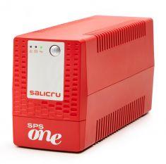 SALICRU Onduleur SPS 500 ONE IEC Line-interactive 500VA USB 4 prises IEC protection surcharge Garantie 3 ans 662AF000013